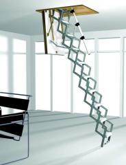 Nożycowe schody strychowe Roto Mini