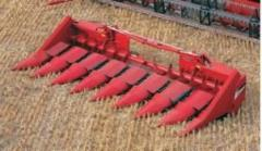Corn-picker combines