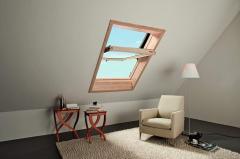 Obrotowe okno dachowe Designo R6