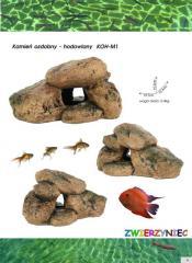 Decorative rocks with natural resin - Skałki