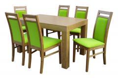 Komplet Krzesło Zefir Stół Karlos