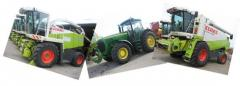 Agricultural machinery previously used