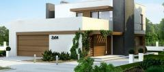 Domestic houses (de-lux)