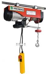 Wciągniki elektryczne linowe typu Welb