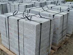 Płyty chodnikowe granitowe, płyty z granitu