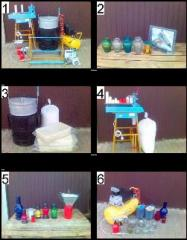 Kits for making candles