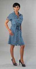 Suknia dżinsowa