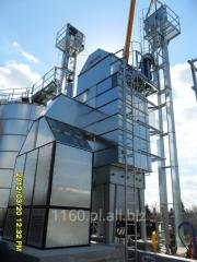 Stationary grain dryers