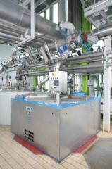 Equipment for the production and processing sugar