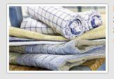 Tkaniny bawełniane i tkaniny lniane