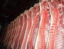 Market-grade pork meat