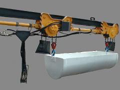 Hydraulic transport equipment