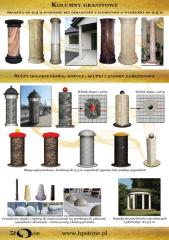 Columns made of stone