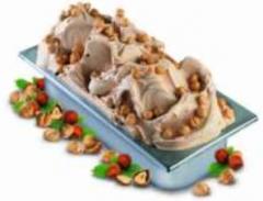 Dry mixtures for ice cream