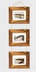 Ramki dekoracyjne z drzewa