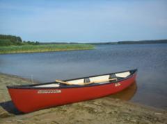 Łodzie wiosłowe. Canoe trzyosobowe