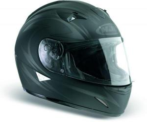 Helmets of motorcyclists