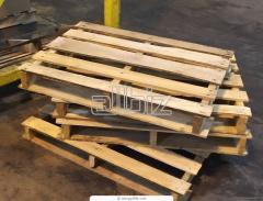 Palety drewniane, różne rozmiary i typy, również