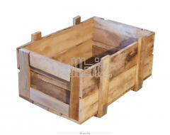 Wooden boxes for export