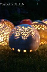 Lampion ogrodowy handmade