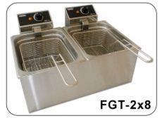 Frytownica elektryczna dwukomorowa na 2x8 litrów FGT-8x2