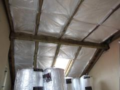 Roll thermal insulation