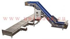 Scales for agricultural products, automatic