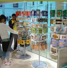 Rotating promotional stands