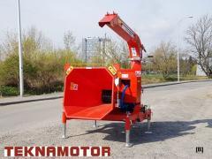 Новая дробилка древесины Skorpion 250R/90