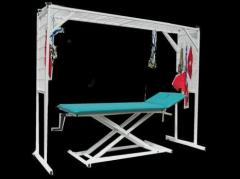 Przyłóżowe urządzenie rehabilitacyjne