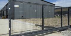 Extensible rail-type gates