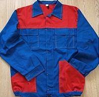 Kurtki robocze dwukolorowe szyte z mocnych, wysokiej jakości tkanin bawełnianych o gramaturze 280-300g/m2. Skład tkaniny: 100% bawełna. Kurczliwość 1,5%.