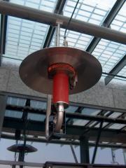 Promiennik gazowy model PUF (moc 9,4kW)