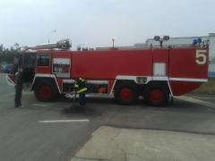 Fire trucks for airport