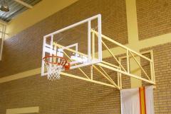 Konstrukcja do koszykówki