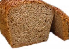 Bread, dietetic