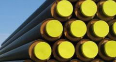 Heat-insulated pipes