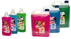 Floor washing liquid