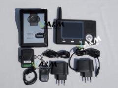 AM-352 - Wideodomofon bezprzewodowy 3,5 cali