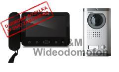 KW-E705C/138MC - Kenwei Zestaw wideodomofonowy