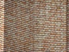 Ceramic construction brick
