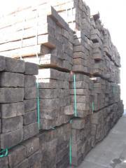 Chemically treated wood