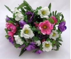 Sztuczne kwiaty, wieńce, wiązanki, podkłady,