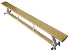 Gymnastic bench