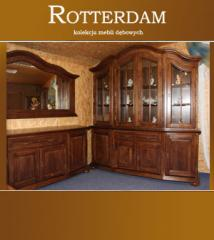Komplet mebli dębowych Rotterdam.