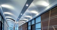 Metallic cassette ceilings