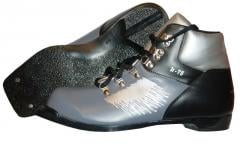 Shoes for crossing skis