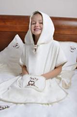 Kolekcja dziecięca: ręcznik z kapturkiem, okrycie