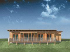 Dom z drewna Klif