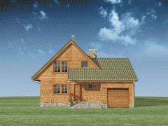 Domy Z Poddaszem I Garażem